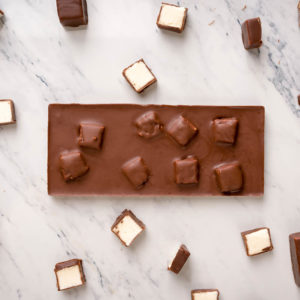 Предметная съемка крафтового шоколада