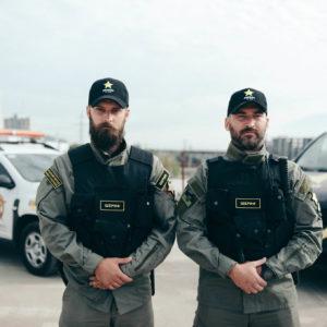 Рекламная сьемка для охранной компании Шериф