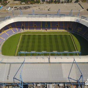 Архитектурная съемка стадион Арена Львов