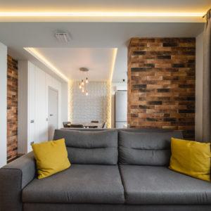 Интерьерная съемка квартиры - зона отдыха