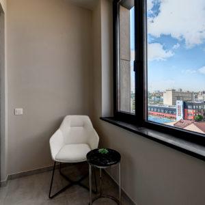 Интерьерная фотосъемка - дизайнерская квартира в ЖК CHICAGO Central House
